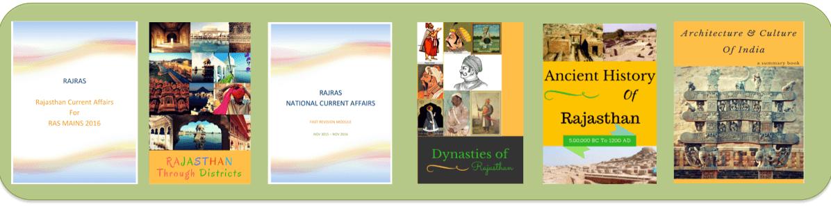 RAjRAS notes in PDF