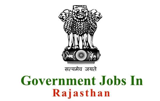 Rajasthan Government jobs , Naukri