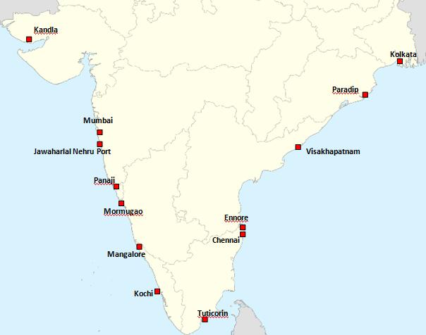 Major Ports India