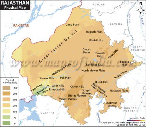 Mountain Peaks of Rajasthan