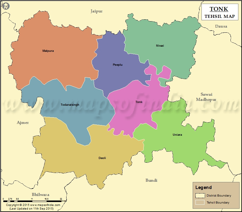 Tonk: History, Geography, Places