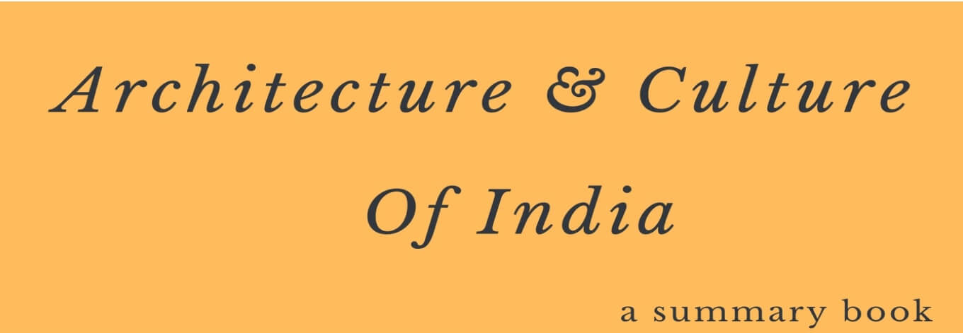 Architecture and Culture of India PDF