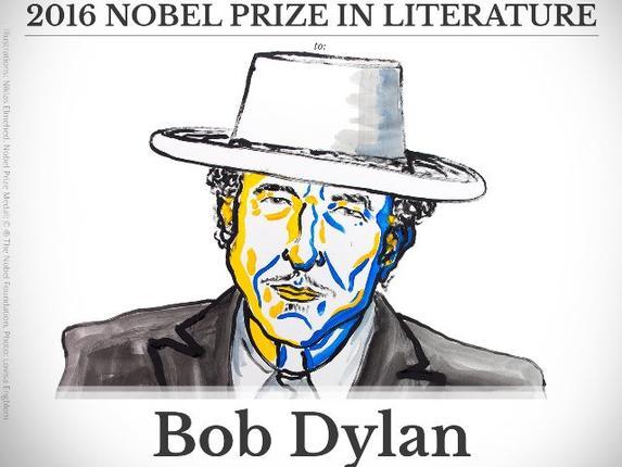 Bob Dylan wins Literature Nobel