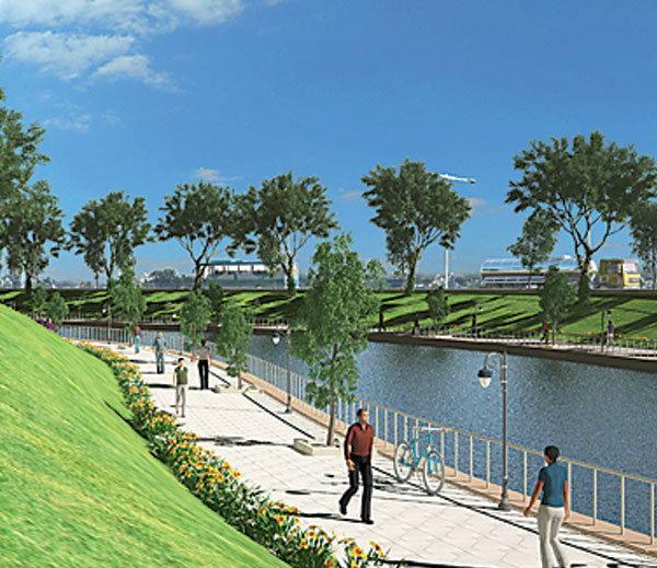 dravyavati river rejuvenation project