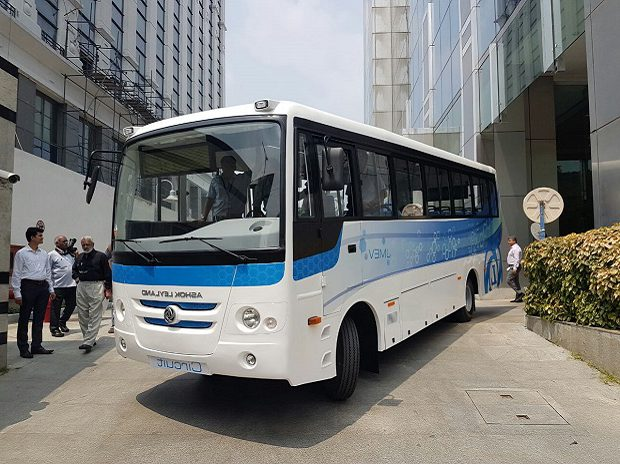 Ashok Leyland launched first India-made electric bus