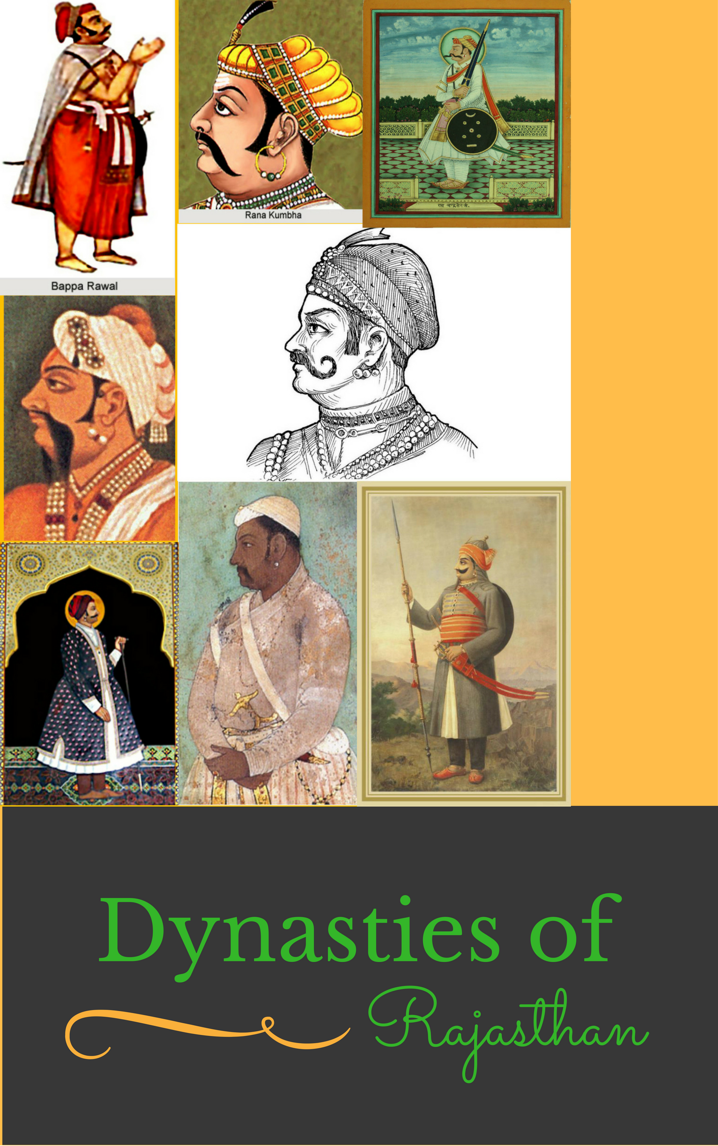 Important Dynasties of Rajasthan Image