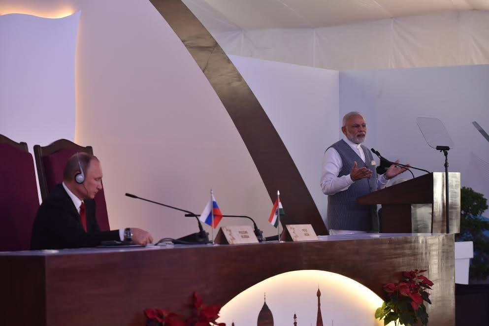 India Welcomes Putin: Recent India Russia Partnership