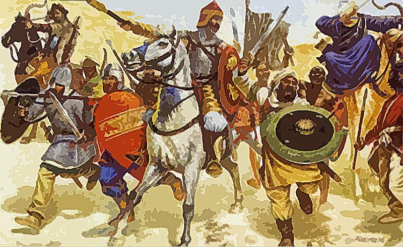 Battle of Rajasthan: 738 A.D