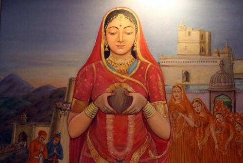 Siege of Chittor: 1303 – First Jauhar of Chittor – Rani Padmini