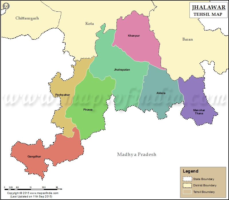 Imagesource: MapsofIndia Tehsil of Asnawar not on Map