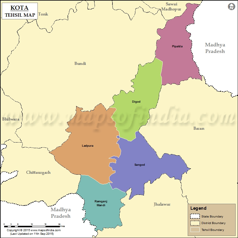 Imagesource: MapsofIndia Tehsil of Kanwas not shown in map