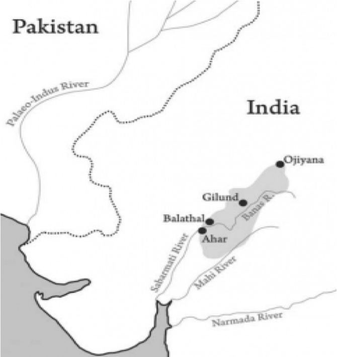 Archaeological Site of Gilund in Rajsamand