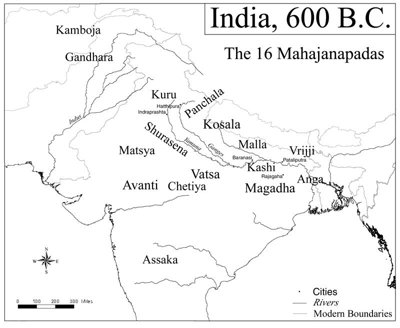 Mahajanpada in Rajasthan
