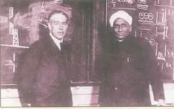 Niels Bohr and Raman at IISc, Bangalore.