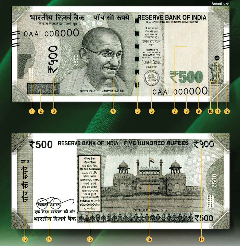 Currency Printing In India And Features Of New 2000 And 500 Rupee