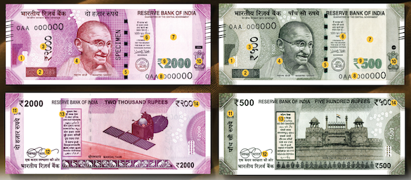 Currency Printing In India and Features of new 2000 and 500 Rupee Notes