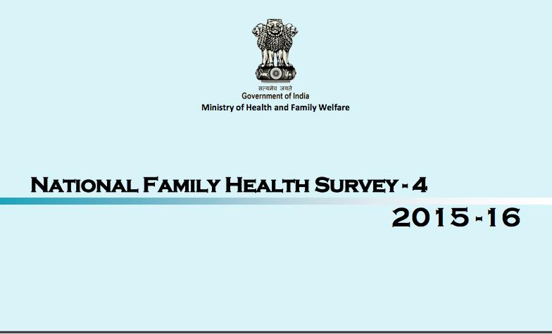 National Family Health Survey NFHS-4: Rajasthan