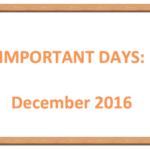 Important days december