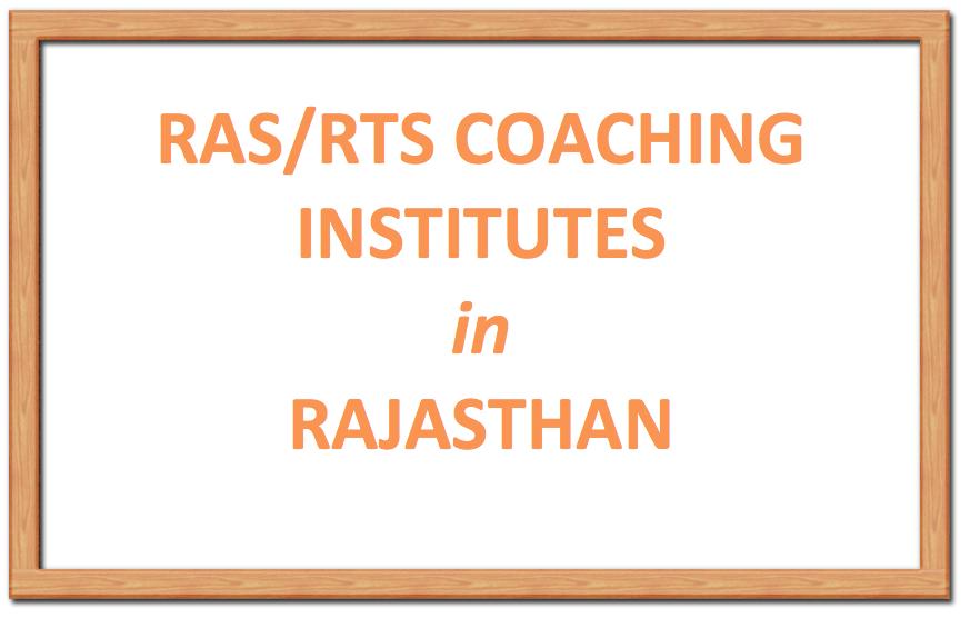 RAS Coaching Institutes in Rajasthan