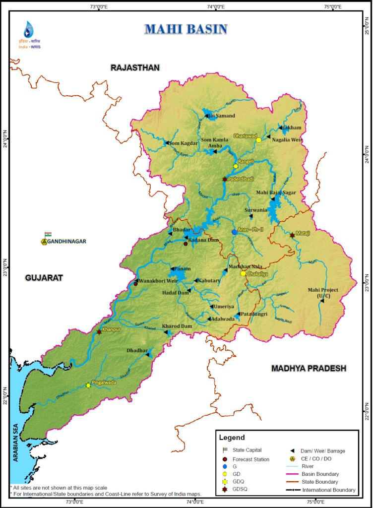 Mahi River Basin