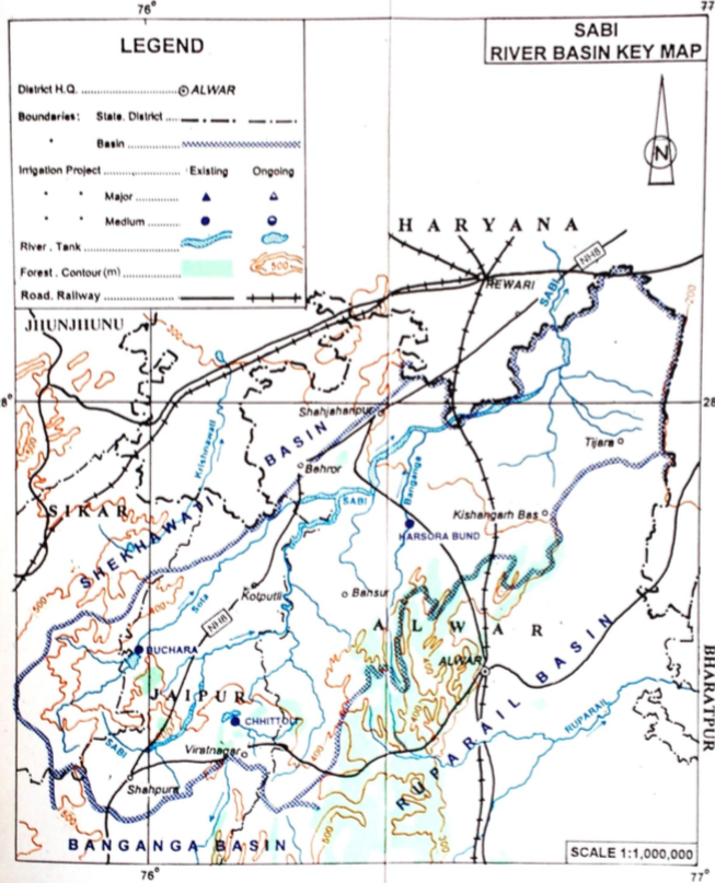 Sabi (Sahibi) River Basin