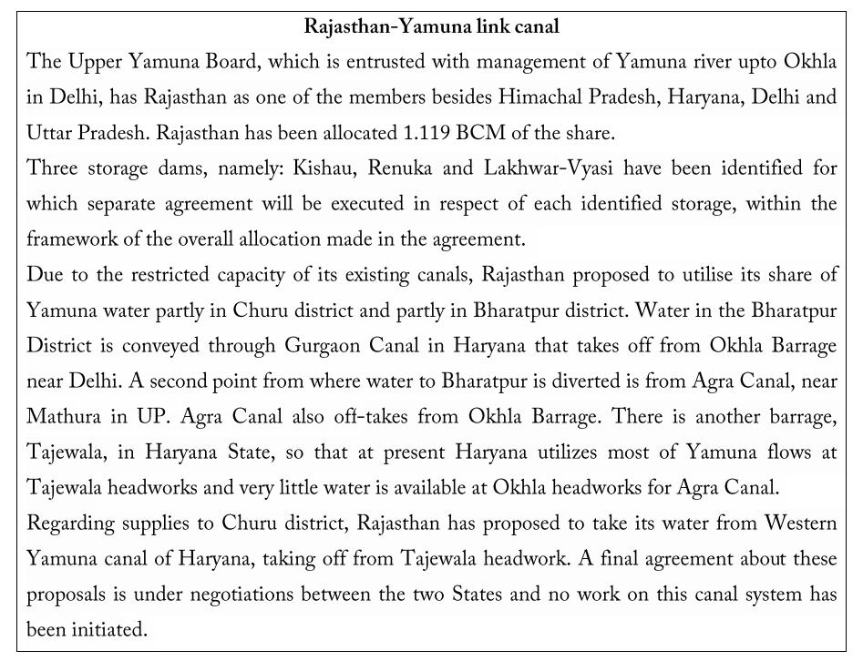 Yamuna-Rajasthan Canal