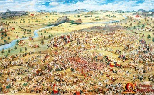 Battle of Haldighati, Maharana Pratap, Chetak, Akbar