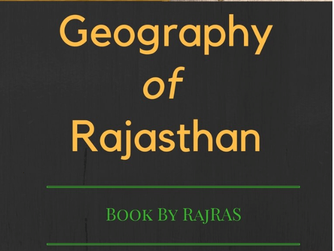 Geography of Rajasthan PDF 2019