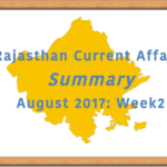 Hello english Rajasthan-Current-Affairs-Summary-August-Week2