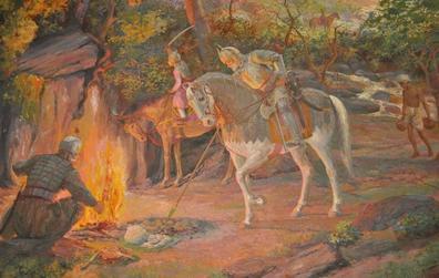1680: Battle of Udaipur and Aravalli Hills