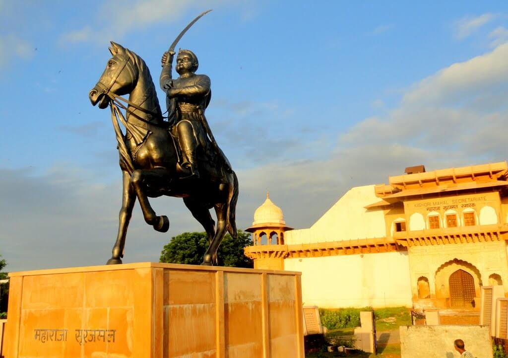 Jat Rulers Of Bharatpur Rajras In