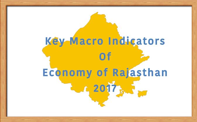 Economy of Rajasthan: Macro Indicators 2017