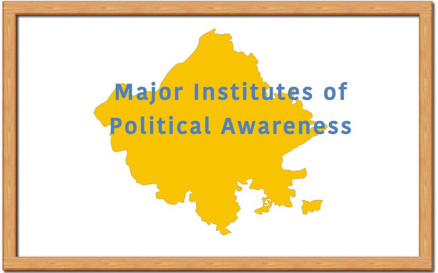 Major Associations of Political Awareness