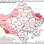 Earthquake Hazard Zones of Rajasthan