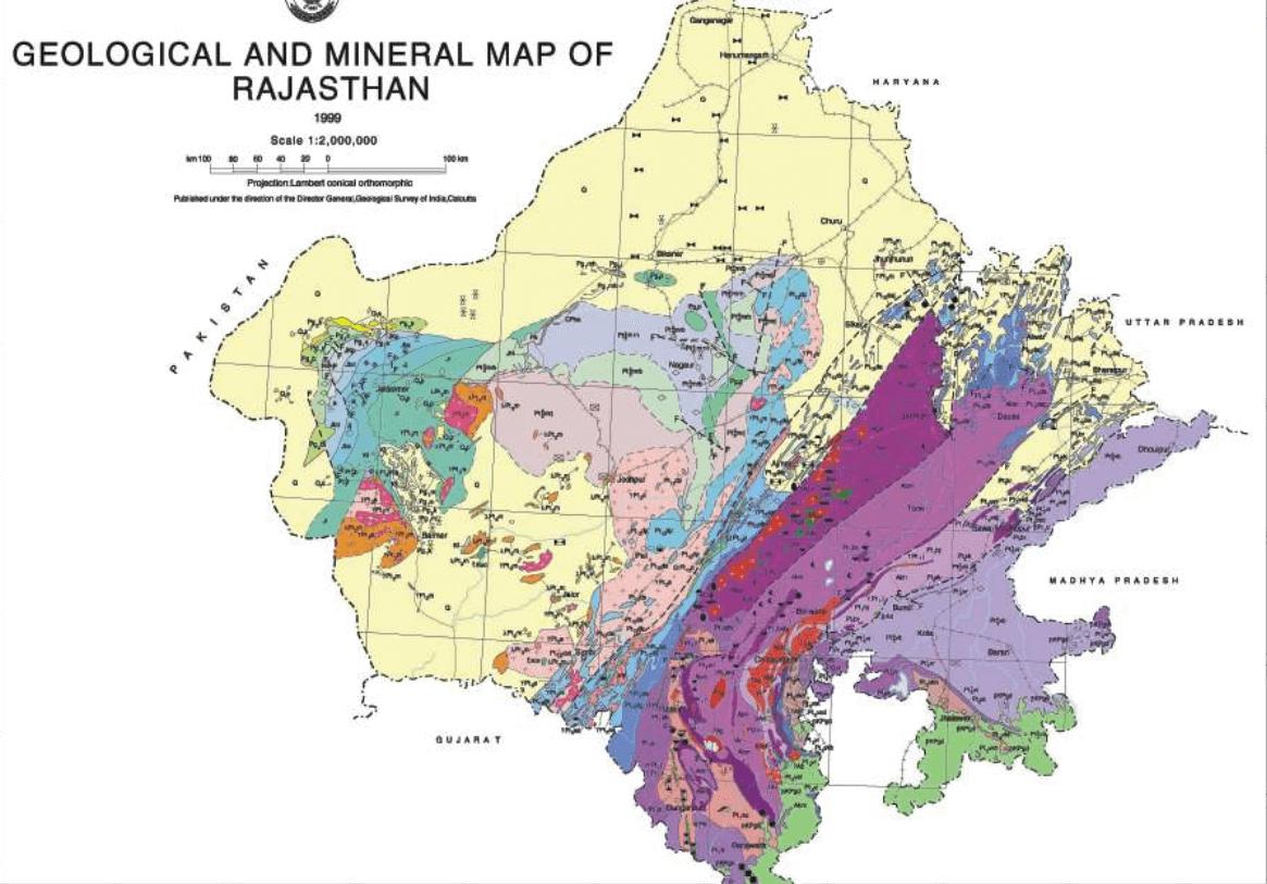 Geology of Rajasthan