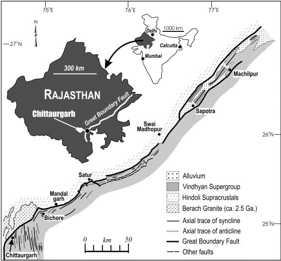 Great Boundary Fault Rajasthan