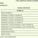 UPSC Topper Answer Books Marks
