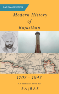 Modern History of Rajasthan PDF Notes