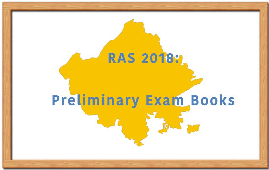 RAS 2018 Books, RAS Prelims Books