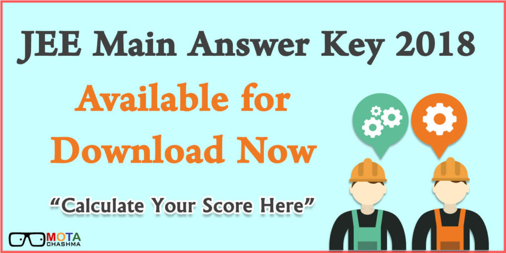 JEE Main Answer Key 2018 (1)