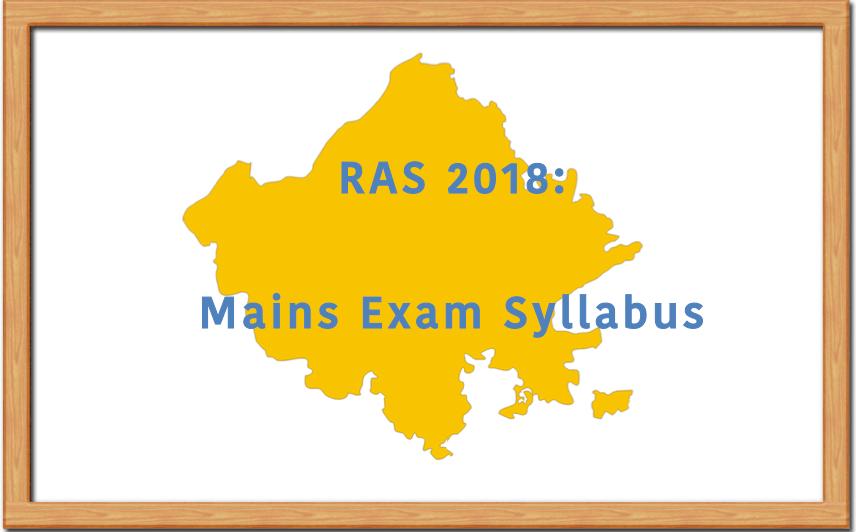 RAS Mains Examination Syllabus