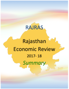Summary PDF Rajasthan Economic Review 2017-18