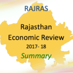 Summary PDF Rajasthan Economic Review RAS 2018