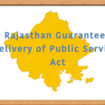 Rajasthan Guaranteed Delivery of Public Services Act