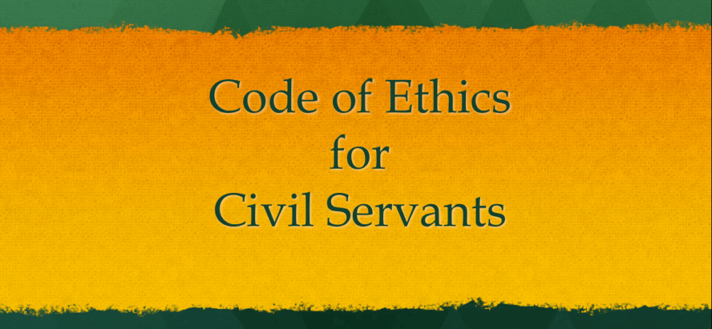 Code of Ethics for Civil Servants in India
