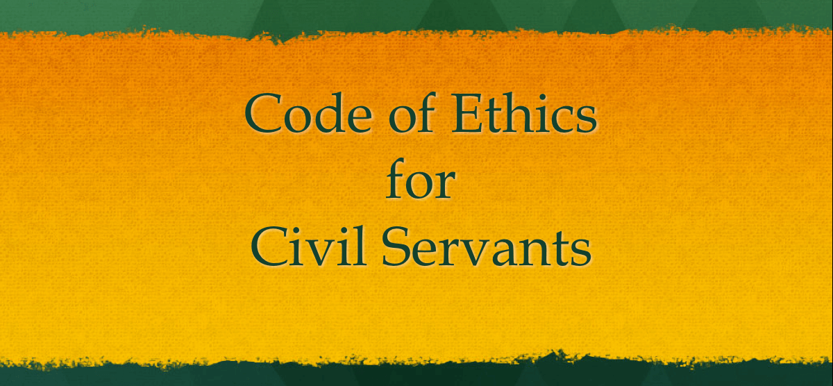 Code of Ethics for Civil Servants in India