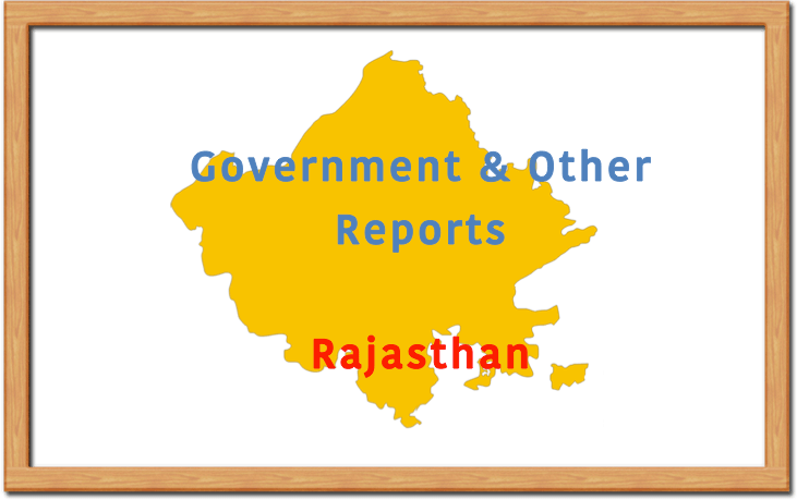 Rajasthan Government Reports