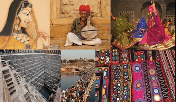 Rajasthani Folk Painting Art