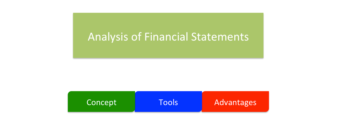 Analysis of Financial Statements - tools and techniques