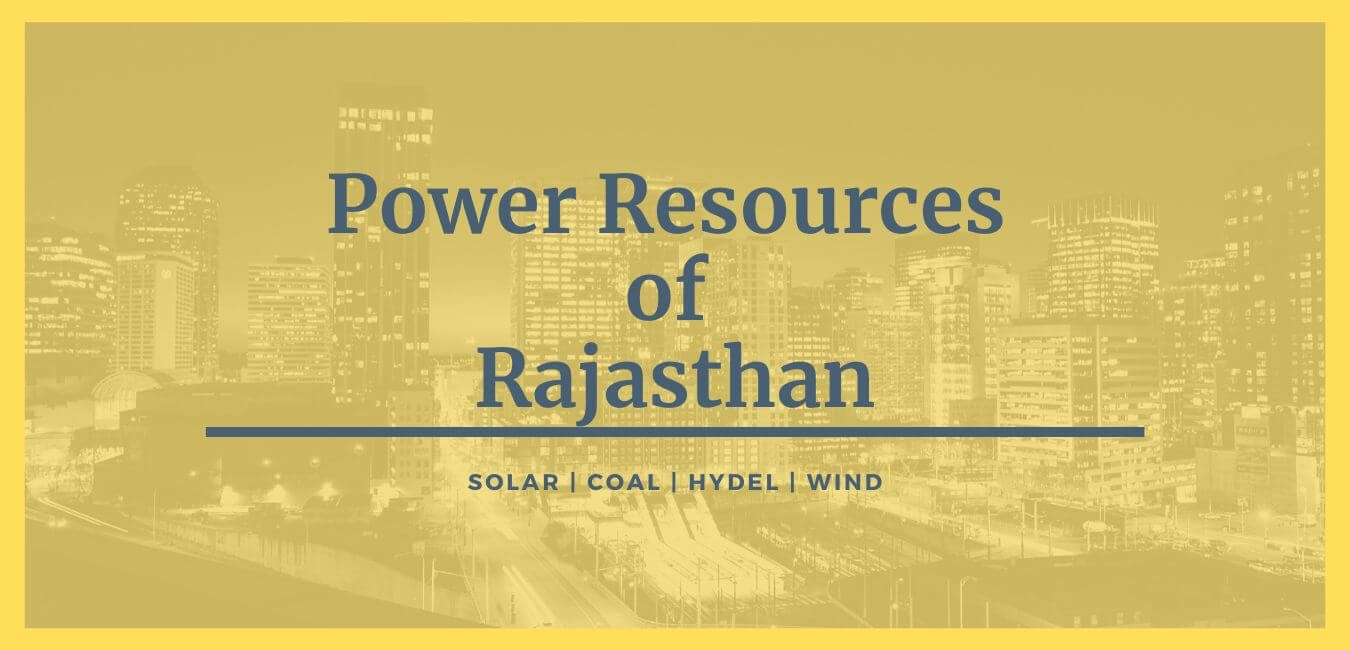 Power Resources of Rajasthan
